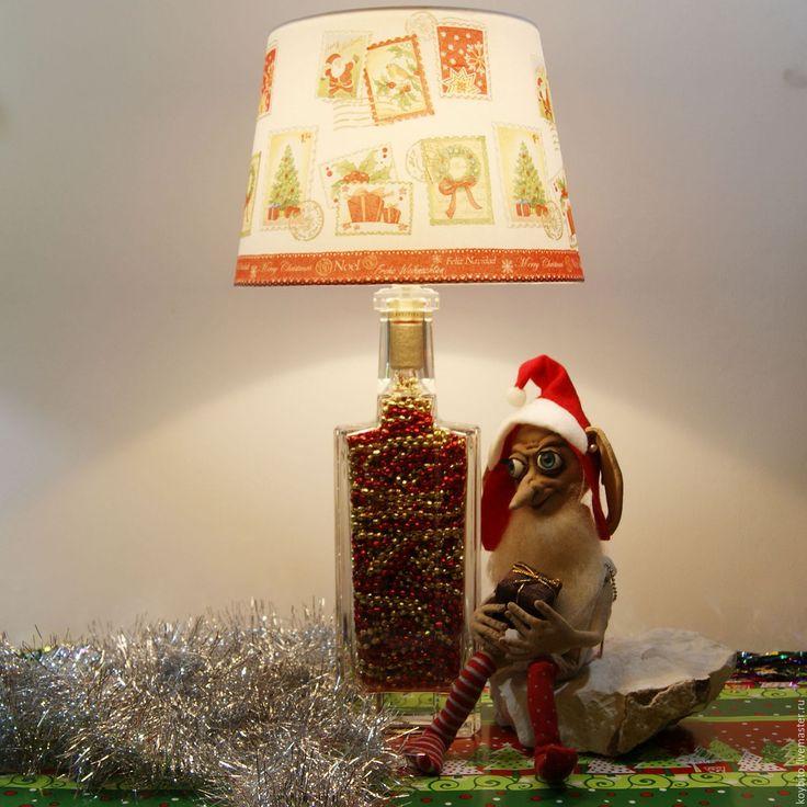 """Купить Светильник """"Новый Год"""" 02 Добби - лампа, светильник, подарок, подарок на новый год"""