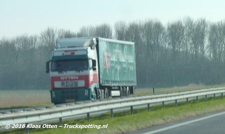 Otten Transport in de Noordkop  | A7 t.h.v. Wieringerwerf