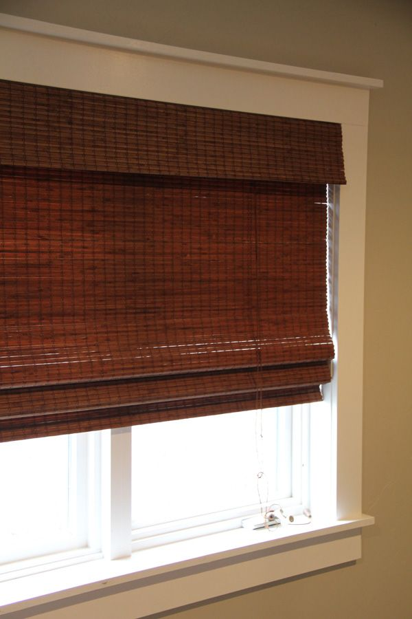How to trim in-stock bamboo blinds to fit - get the look of custom blinds at a much lower price!