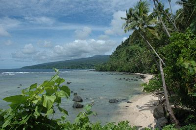 Isolated beach in Fiji - great approximation of the fictional island of Kilakuru
