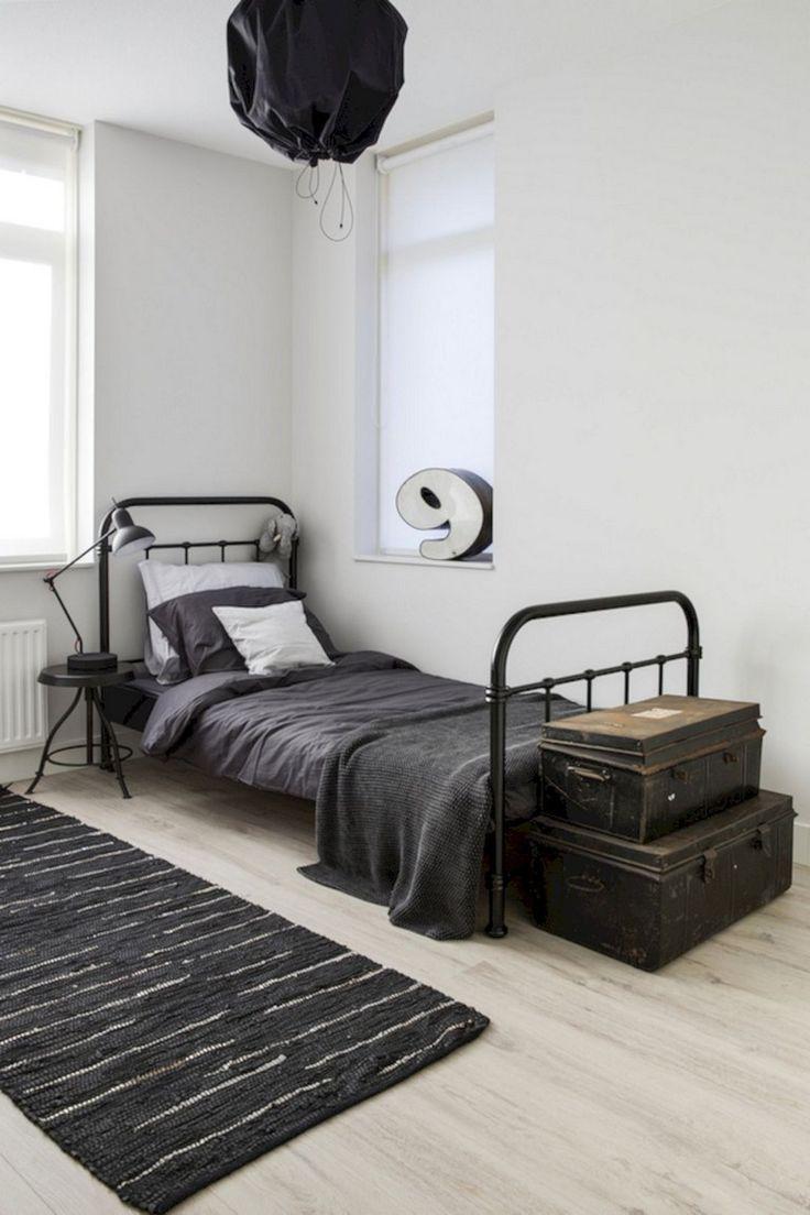 35 Magnificent Industrial Bedroom Design Ideas For Unique Bedroom