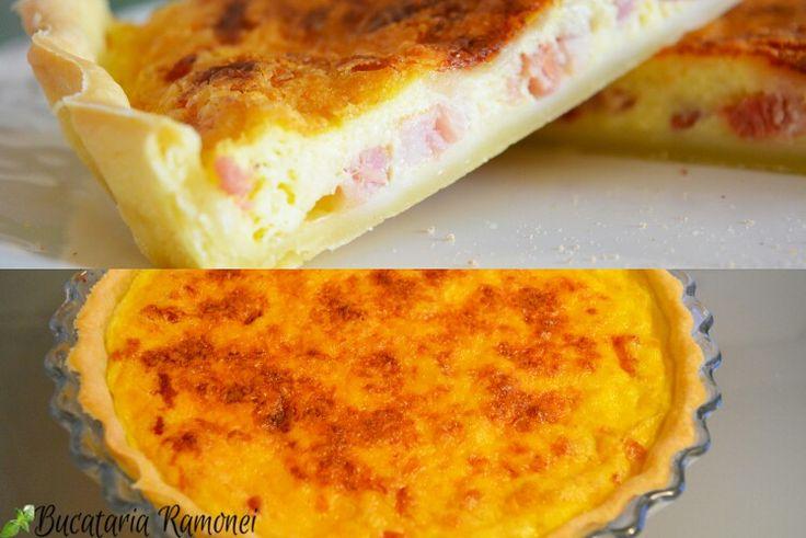A trecut ceva timp de când nu v-am mai ispitit cu o tartă sărată! De data aceasta vă propun un preparat al bucătăriei franceze. Iată cum se face Quiche Lorraine: http://bucatariaramonei.com/recipe-items/quiche-lorraine/ #tarta #reteta #tart #quiche #lorraine