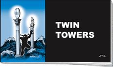 'Twin Towers' tract by Chick Tracts