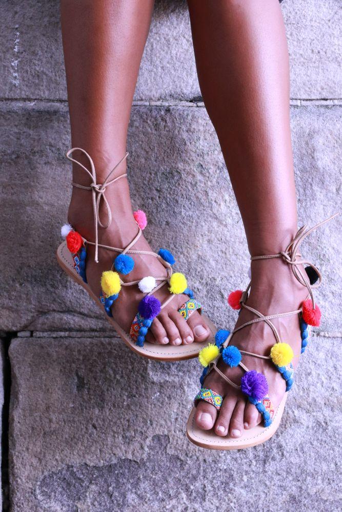 Image of Pompom sandal