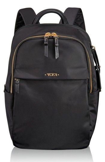 TUMI  VOYAGEUR - SMALL DANIELLA  BACKPACK - BLACK.  tumi  bags  leather   nylon  backpacks   c554a8845c