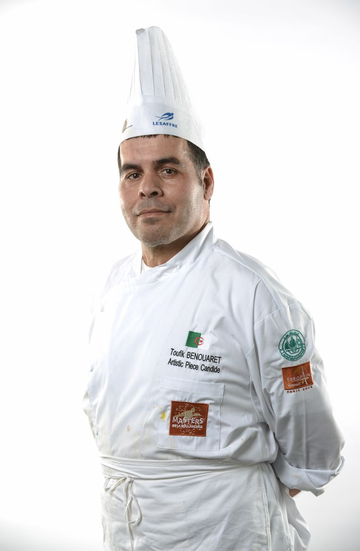 Masters de la Boulangerie 2014 – candidat d'Algérie, Toufik BENOUARET, catégorie Pièce Artistique /2014 Bakery Masters – candidate from Algeria, Toufik BENOUARET, Artistic Piece category  Copyright Sabine SERRAD