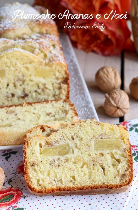 Plumcake all'Ananas e Noci