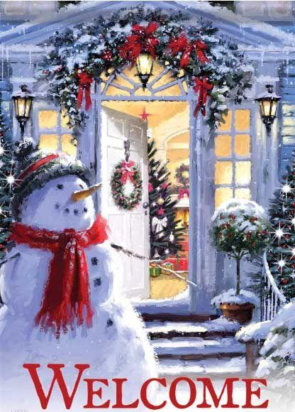 Snowman Entrance