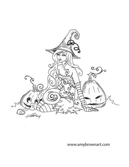 Halloween Artist Amy Brown Fantasy Myth Mythical Mystical Legend Elf Elves Dragon Dragons Fairy Fae Wings Fairies Mermaids Mermaid Siren Whimsey Coloring pages colouring adult detailed advanced printable Kleuren voor volwassenen coloriage pour adulte anti-stress kleurplaat voor volwassenen Line Art Black and White https://www.facebook.com/AmyBrownArt/photos/pb.351000926725.-2207520000.1438912612./10152797721791726/?type=3