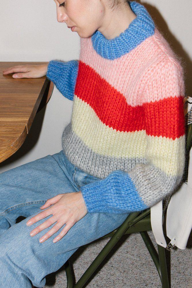 b7805cae5ec Ganni The Julliard Mohair Sweater on | DREAM WARDROBE | Mohair ...