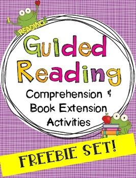Free activities to use with the weekly anthology story, guided reading, or a read aloud!