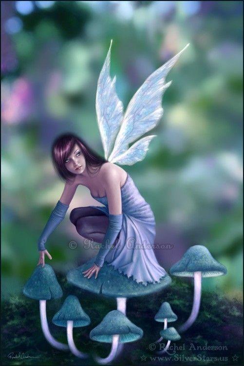 Fairy Art Periwinkle 5x7 Print by twosilverstars on Etsy ...  Fairy Art Periw...