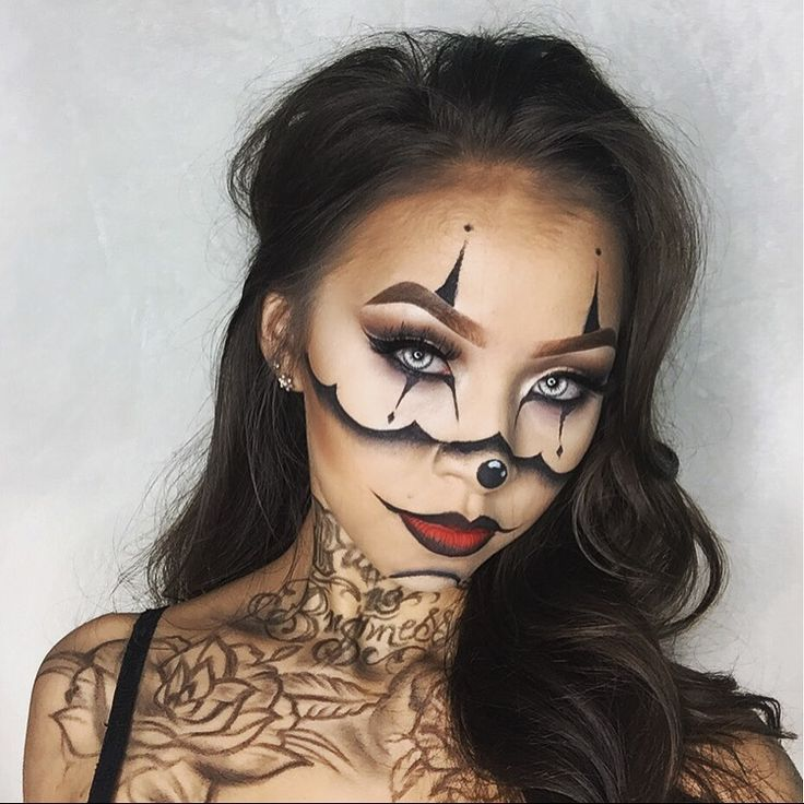 Best 25 gangster tattoos ideas on pinterest chicano for Halloween makeup tattoos