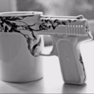 Coffee Mugging! Every Cop wife I know needs one of these!! I want mine in pink!!!