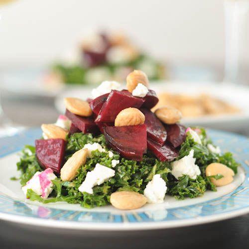 maple roasted beet salad via @spabettie