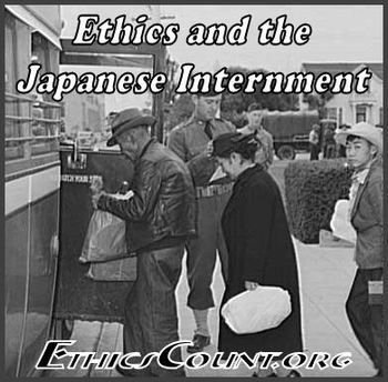 INTRODUCTION: This Ethical Dilemma Discussion Guide is designed to help you help your students discuss and evaluate ethical dilemmas caused when the United States government legally 'interned' more than a hundred thousand Japanese-Americans and Japanese nationals who lived in California and western portions of Oregon and Washington from the spring of 1942 to the spring of 1945.