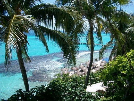 The stunning Garrafon Park, Isla Mujeres. Incredible views, great place to relax or find adventure!