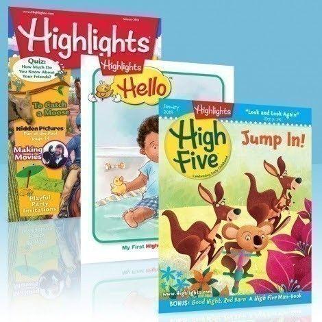 3 FREE Highlights Magazine for Kids - http://www.guide2free.com/books-and-mags/3-free-highlights-magazine-kids/