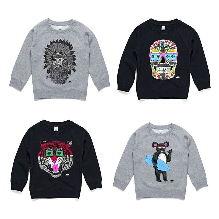 """Happy Queens Birthday long weekend! To celebrate all Mulga clothing is 20% off including sweet kids sweaters like these ones. Just use the code """"queensy"""" at checkout to get sweet deals."""