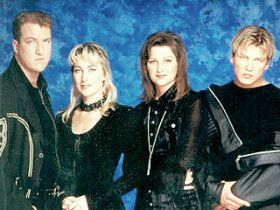 Ace of Base: Siblings Jenny, Jonas, and Linn Berggren with Ulf Ekberg