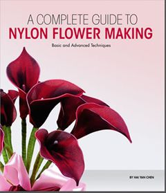 Handmade Nylon Stocking Flower Books from New Sheer Creations