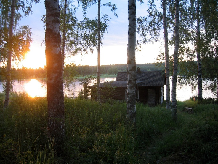 A Traditional Smoke Sauna in Kannonkoski, Finland - Tanger