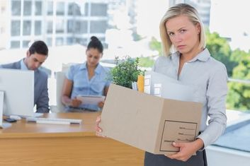 Employers often choose to force an employee to resign so they will be unable to collect unemployment.​