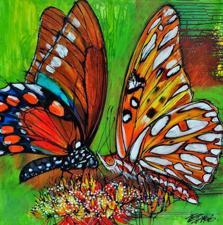 mariposa-al-oleo.jpg (1268×1279)