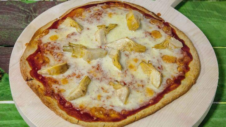 Pizza Senza Glutine con Farina di Piselli