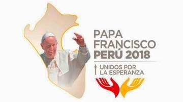 Presentan el logo que acompañará al Papa Francisco en su visita al Perú 19/08/2017 - 01:08 pm .- La Conferencia Episcopal Peruana (CEP), en simultáneo con la Secretaría de Estado Vaticano, dio a conocer este sábado 19 de agosto el logotipo que acompañará al Papa Francisco durante su visita apostólica al Perú del 18 al 21 de enero de 2018 y que comprenderá las ciudades de Lima, Puerto Maldonado y Trujillo.