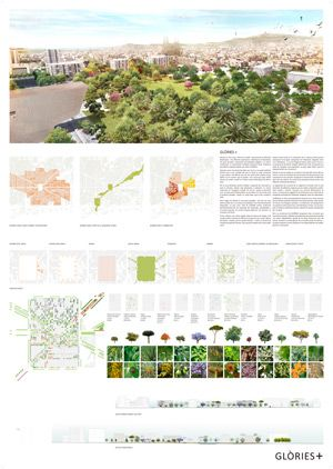 Cruilla 0 - Finalist project Plaza las Glorias Competition