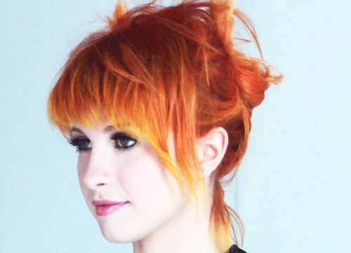 hair styles names 30 best hayley williams images on paramore 9519 | 5ba7022a1eea9519ba58ddfd255e7ce3 yellow hair red hair