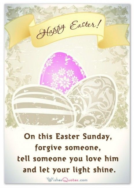Easter brings fun, Easter bring Happiness, Easter brings God's endless blessings, Easter brings love and the freshness of spring. Happy Easter to you and your family!