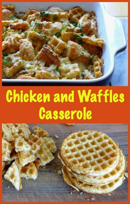 Chicken and Waffles Casserole Recipe