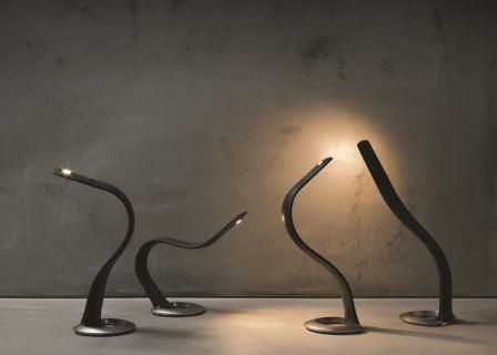 An Exquisite Combination Of Rubber And Metal, The Hatha Light Is An LED Table  Lamp That Bends Like A Human Body. With A Flexible Spine Embedded In The ... Pictures Gallery
