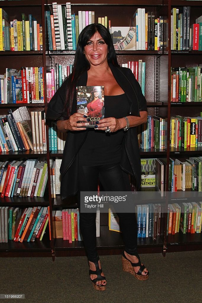 Angela 'Big Ang' Raiola promotes her new memoir 'Bigger is Better: Real-Life Wisdom from the No-Drama Mama' at Barnes & Noble Tribeca on September 13, 2012 in New York City.