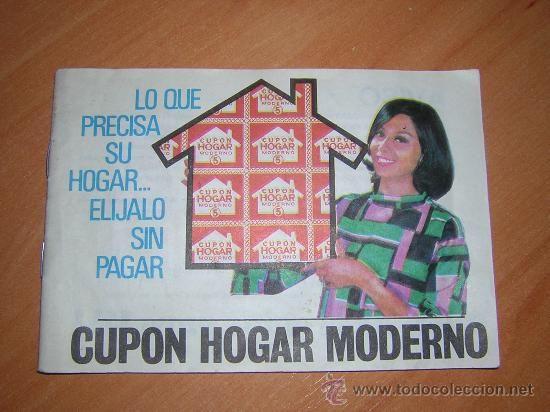 album de cupon de el hogar moderno (años 60
