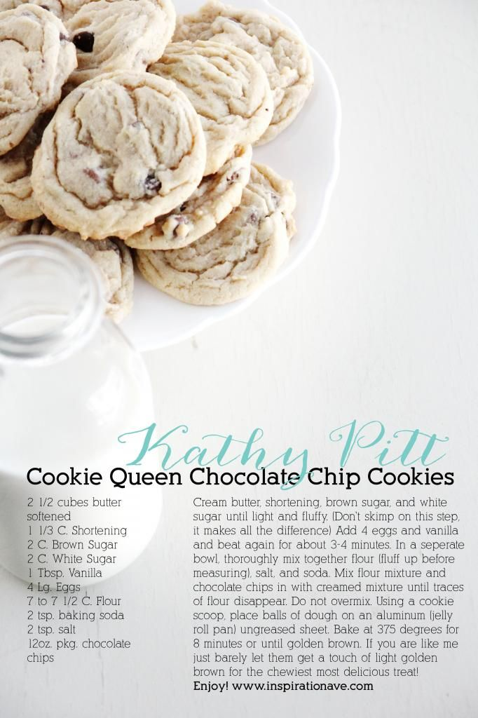 The best Chocolate chip cookie recipe I've ever made