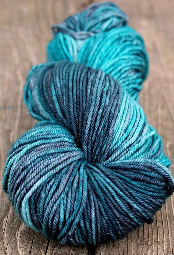Cashmere Merino Hand Dyed Sock Yarn