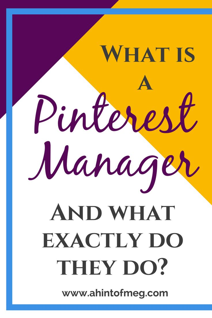 You might have heard that hiring a Pinterest Manager is the way to go if you want to gain more traffic to your blog. But what is a Pinterest Manager and what exactly does a Pinterest Manager do?