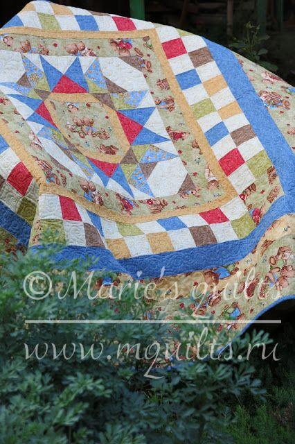 Marie's quilts: Мой маленький мишка / My little bear