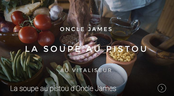 La soupe au pistou https://95degres.com/videos/09-08-2016-la-soupe-au-pistou-d-oncle-james
