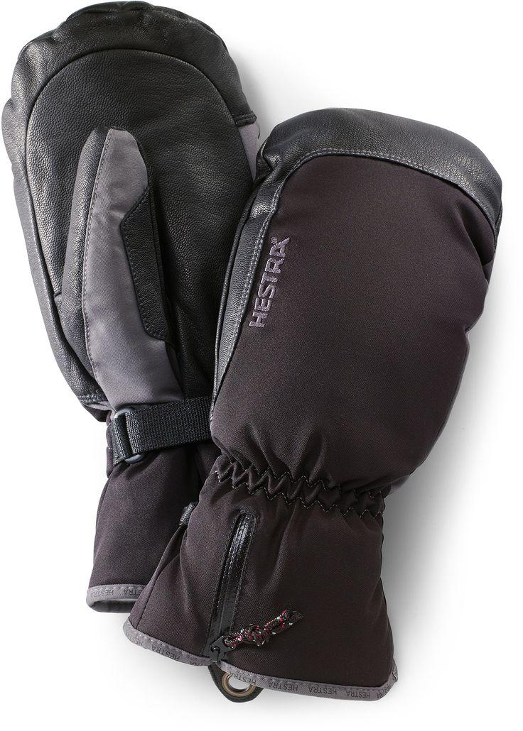 Hestra Gloves Unisex Czone Leather Mittens