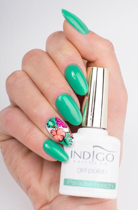 Paradise Beach   indigo labs nails veneto