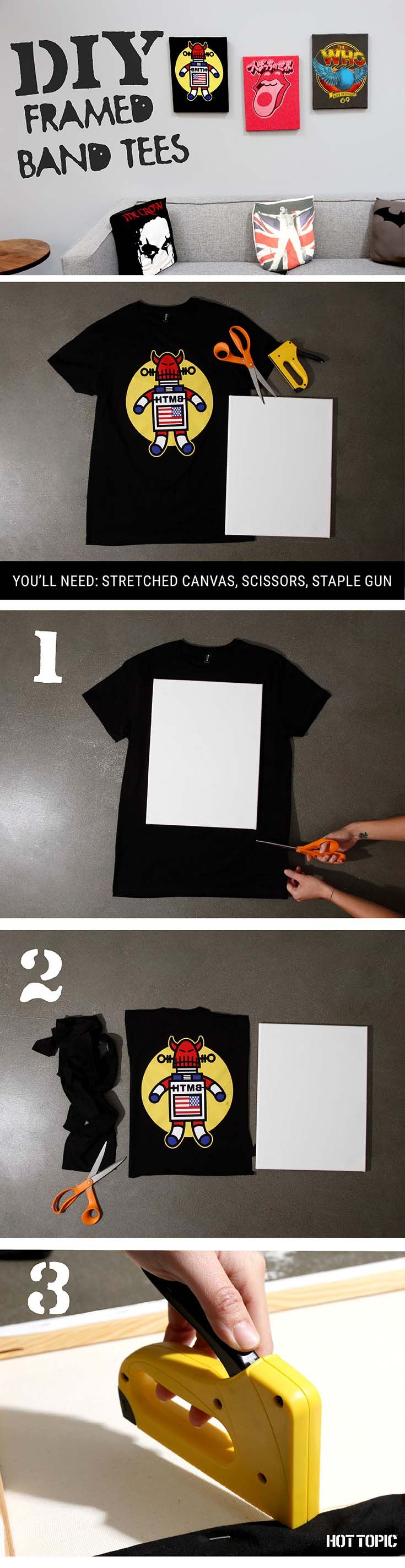 I need to do this when I grow out of my band shirts