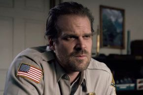 Don't Look At These Pics Of Chief Hopper If You Don't Wanna Fall In Love
