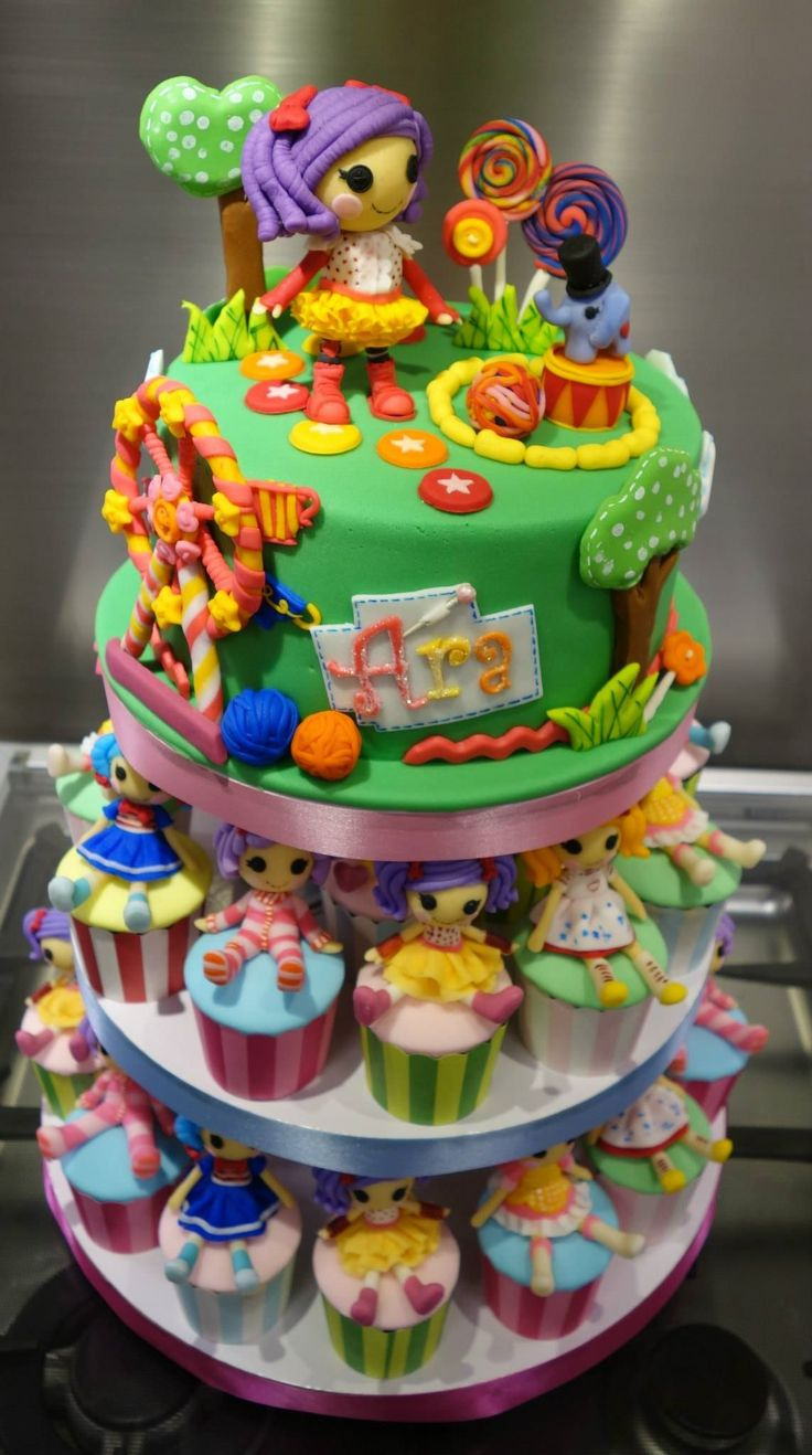 54 best images about Lalaloopsy Cakes on Pinterest | Birthday ...