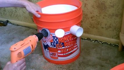 How to make Homemade Air Conditioner DIY - The _5 Gallon Bucket_ Air Cooler! DIY-