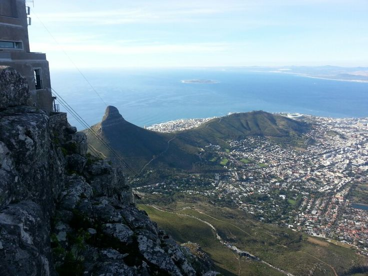 View from top of Table Mountain Cape Town