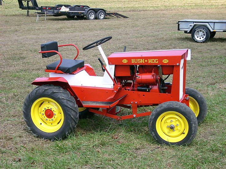 Lawn Hog Parts : Very nice restored hd garden tractors bush hog